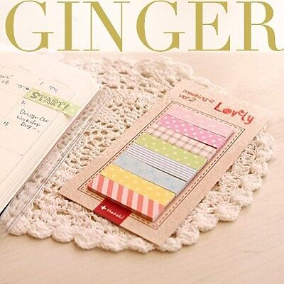 cute  sticker post-it bookmark point it marker memo flags sticky notes on Rummage