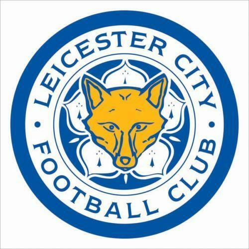 Leicester city sticker ebay