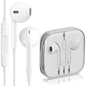 Genuine Apple White EarPods In Ear Headphones For iPhone