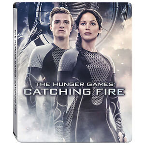 BLU-RAY! THE HUNGER GAMES CATCHING FIRE STEELBOOK