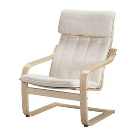 Ikea Poang chair - birch veneer