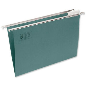 50 A4 Green Suspended Filing Cabinet Hanging Files ...