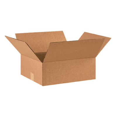 25 14x10x5 Cardboard Shipping Boxes Flat Corrugated Cartons