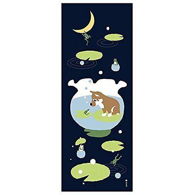 Hamamonyo Shiba Inu Dream of Summer Chusen Tenugui Towel