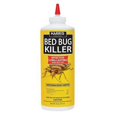 Harris Bed Bug Diatomaceous Earth Powder, 8oz,
