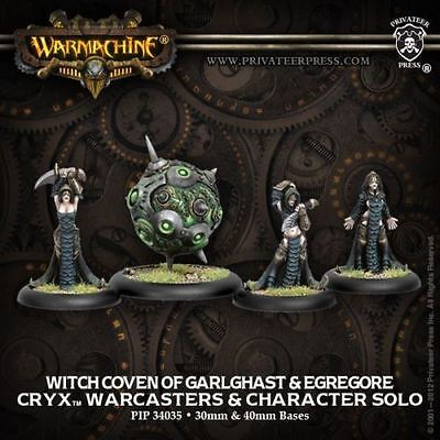 WARMACHINE Cryx PIP34035 Witch Coven Of Garlghast & Egrogore NEW