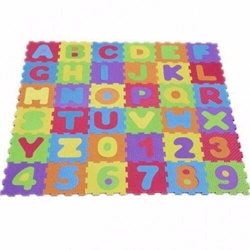 Alphabet & Numbers Soft Foam Playmat - Brand New - Kilmarnock Area