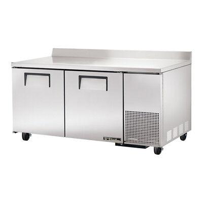 True Twt-67 Worktop Refrigerator 2 Door 20.6 Cu. Ft.