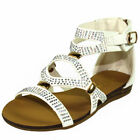 Gladiator Communion Sandals for Girls