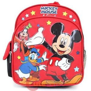Mickey Mouse Toddler Backpack 4136d82d6c3a