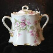 Haviland Limoges Sugar