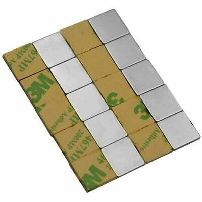 25 50 100 12 X 12 X 116 Inch Magnets Adhesive Backed Neodymium Rare Earth N48
