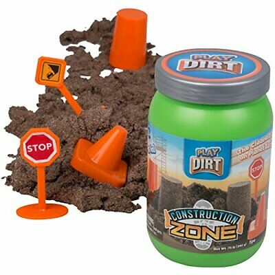 Construction Zone Dirt - Unique Play Dirt For Burying and Digging Fun. Includes](Unique Toys For Kids)