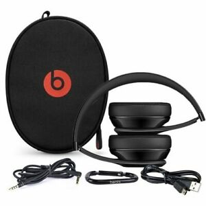 Dre Beats Solo 3 - Headphones, Case, + All Cables (INCREDIBLE!!)