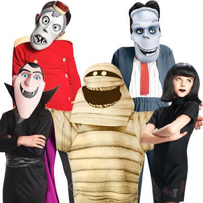 Hotel Transylvania 2 Fancy Dress Halloween Vampire Monsters Childrens Costumes