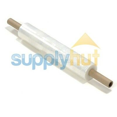 18 X 1000 80 Gauge 1 Roll Pallet Extended Stretch Film Pipe Shrink Wrap 1000ft