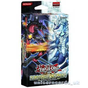 YuGiOh! Dragons Collide Structure Deck UNL Edition :: Brand New and Sealed Box!