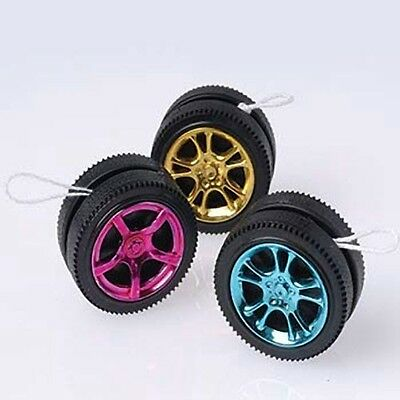 12 Racing Race Car Wheel Tire Mini Yo-Yo Nascar Birthday Party Goody Bag Favor