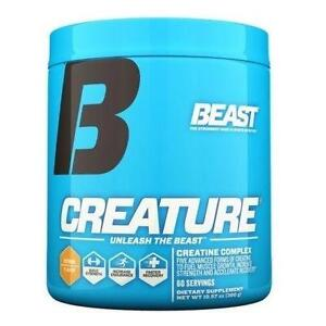 Beast Sports Nutrition CREATURE Creatine Powder Strength Endurance Recovery 300g 60 SERVINGS