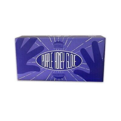 Purple Honey Nitrile Gloves – Box of 100