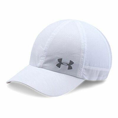 Under Armour Women's Fly By ArmourVent Cap Hat White OSFM NWT