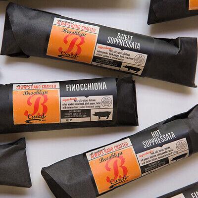 Brooklyn Cured Salami - Hot Soppressata (5 -