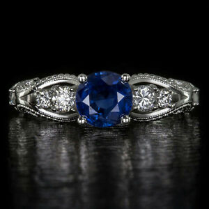 Kashmir Sapphire Ring | eBay