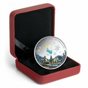 2016 Canada 1 oz. Fine Silver Coin – Venetian Glass Angel -