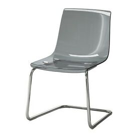 Ikea TOBIAS chair - grey