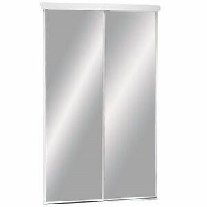 portes miroir coulissante  Format72x80 1/2