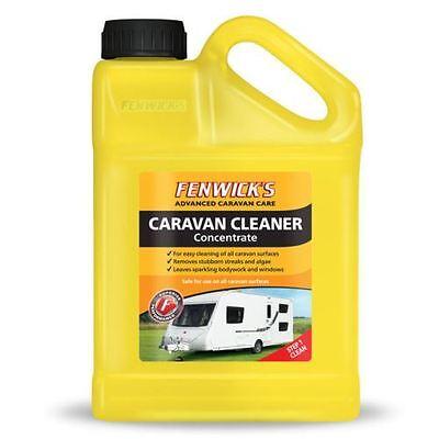 Fenwicks Caravan Cleaner 1lt Concentrate 40 Washes, Safe on All Caravan Surfaces