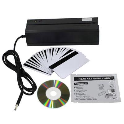 Upgraded Msr606 Msr606i Magnetic Credit Card Reader Writer Encoder 3-track
