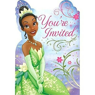 - Disney Princess and the Frog Birthday Party Invitations & More- 8 ct  #42163