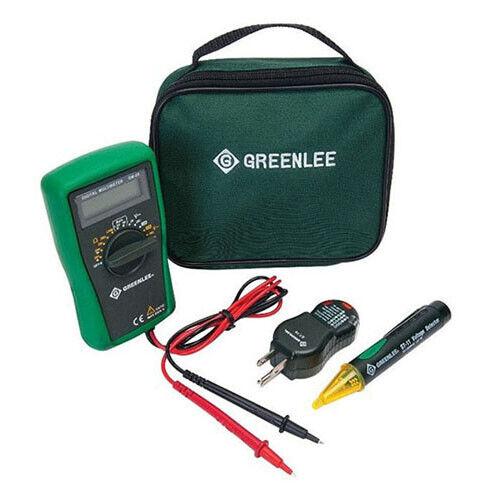 Greenlee TK-30A 52063039 Basic Electrical Kit w/ DMM, Voltage Detector