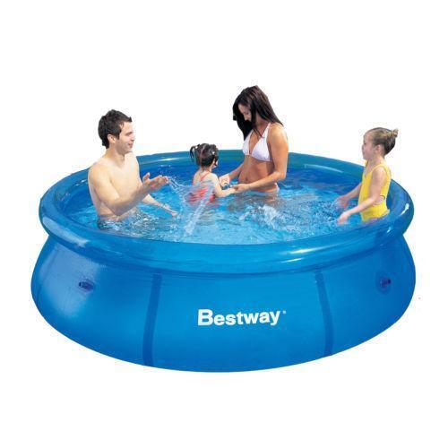 Bestway fast set pool ebay for Paddling pool heater