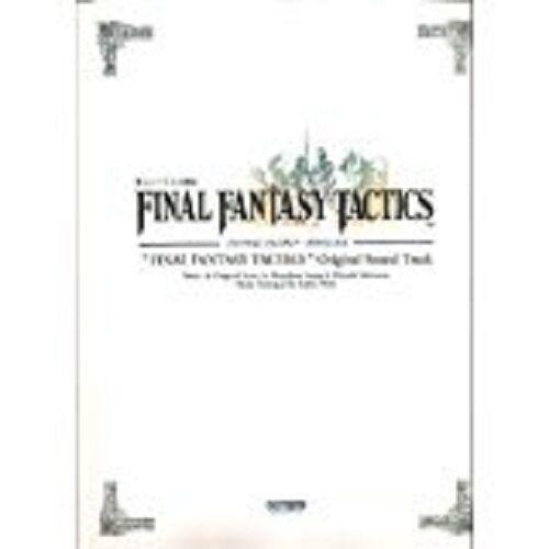 1998-Final Fantasy TACTICS Original Soundtrack Piano Sheet Music Score Book 1st.