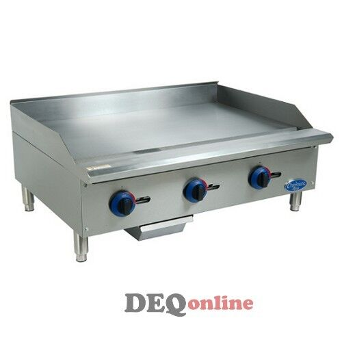 Globe C36gg Chefmate Series Gas Griddle W/ Manual Controls