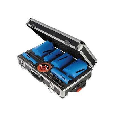 Silverline Taladro de Diamante Kit 6pce 38-127mm Bricolaje Potencia Accesorios