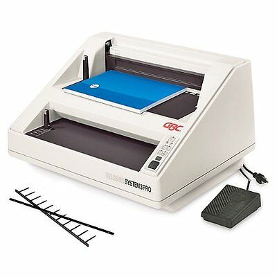 New System 3 Pro Gbc Velobind Binding Machine - 9707102 - Free Shipping