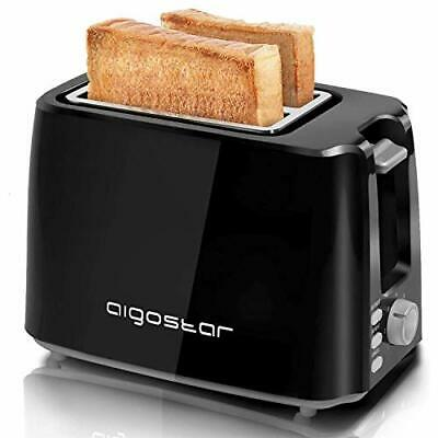 Grille-Pain Electriques 2 Fentes Extra-Larges Fonctions Toaster 750 W 0% BPA