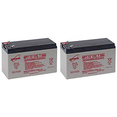 Enersys Yuasa Np7 12 12V 7Ah Battery Pack Of 2