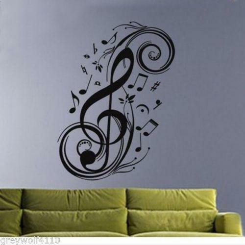 Music Notes Wall Decor Ebay