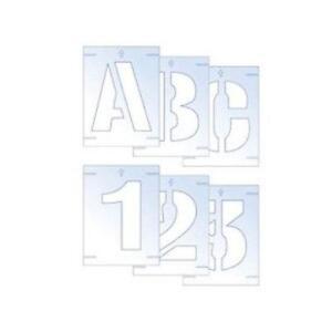Letter stencils ebay letter stencils 50mm spiritdancerdesigns Gallery
