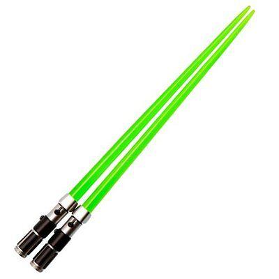 Star Wars Yoda Lightsaber Chopsticks By Kotobukiya  Chop Sabers  Green