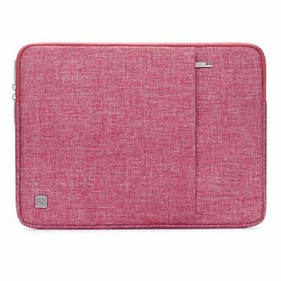 NIDOO 17 Zoll Wasserdicht Laptop Sleeve Case Notebook Hülle (17.3 Zoll|Rot)