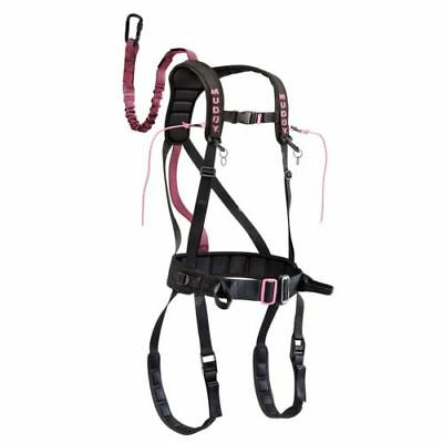 Muddy Treestand Safety Harness Hunting Blind Safeguard Pink Sm/Med Womens Girls