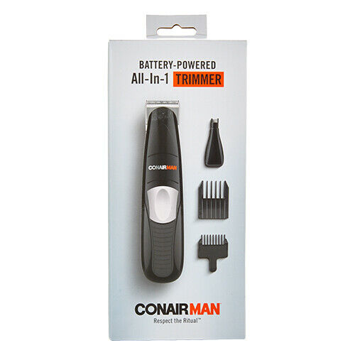 Conair All-in-One Battery-Operated Beard and Mustache Trimme