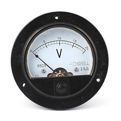 Dc 0-20v Analogue Panel Meter Volt Voltage Gauge Analog Voltmeter
