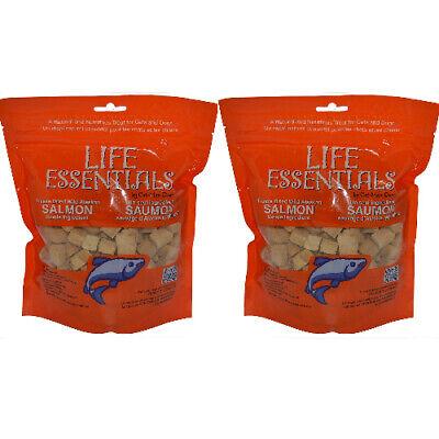2x Cat-Man-Doo Life Essentials Wild Alaskan Salmon Freeze-Dried Cat & Dog Treats Alaskan Salmon Treats