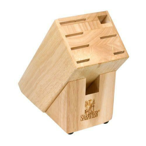 Wood Knife Block Ebay